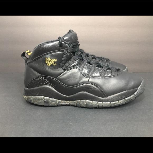 11db7b0e524 Jordan Shoes   Nike Air X 10 Retro Nyc Black Sz 7 Youth   Poshmark